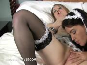 Maggie Green and her fellow Lesbian Maid