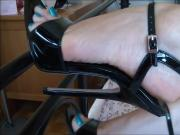 Bare Feet In Open High Heels 8