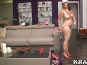 Krakenhot - Funny Hot Chubby teen in a porn casting