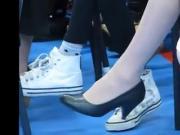 Candid heels