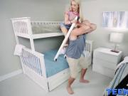 Pretty little teen Jane Wilde stretched by a gigantic cock