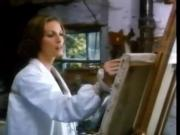 Emily models for a beautiful painter - 1976