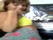 Novinha loirinha