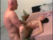 Redhead hottie gets her pink pussy pounded