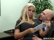 Brazzers - Big Tits at Work - Boobie Bonus scene starring B
