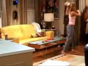 Jennifer Aniston shows her nipples on friends