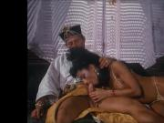 Sultan and sweet Harem wife