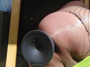 DIRTYGARDENBOY SPLIT IN TWO GAPING ASS PROLAPSE NETSTOCKINGS