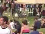 Couple fucking at public concert!!
