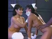 Jeanna Fine & Anna Malle VS. Rindswurst
