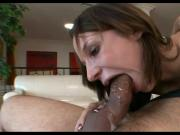 Brunette Slut JS Sloppy Deepthroat Face Fuck