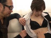 Akina Hara shows proper blowjob bef - More at 69avs.com