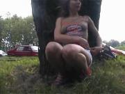 Posing in public