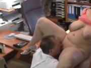 Hot BBW with Big Saggy Tits Knows Tricks To Get Promoted