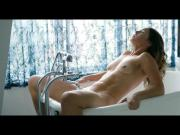 Celebrity Sex Scene - Natalie Krill bathtub orgasm