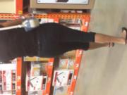 Granny at Home Depot with nice figure 2