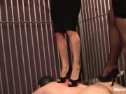 Rough Double Trampling in Cage