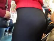 Hot butt in metro