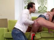 Morgan Moon An Attractive Woman Gets Double Penetrated
