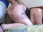 Thick Chubby Tatted Freach Girl Fucked Hard