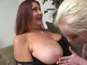 MATURE AND HER HORNY YOUNG GIRL...usb