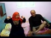 Egyptian hijab milf cheating hidden cam
