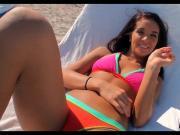 Cock Sucking in Her Bikini