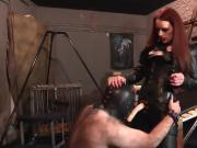 Strap-On Domination - Mistress Rebekka Raynor fucks slave