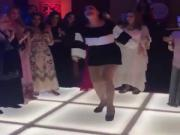 famous arab dancer dina in a wedding