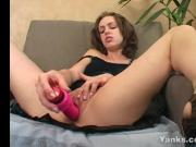 Sweet Sinful Fucks A Giant Pink Toy