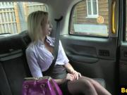 Cheeky taxi brit doggystyled ontop car bonnet