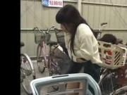 The bycicle parking lot molester