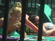 Public ejaculation watching college bikini teases 1 of 4
