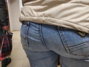 Big juicy ass girls in tight jeans