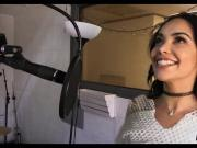 Latina Singer gets Cock in the studio