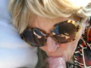 Milf in thighboots gives road head