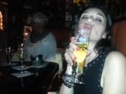 Barbara, italian slut before blowjob with me1