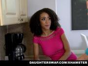 DaughterSwaps - Teen Fucks Older Daddy
