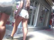 mini short bitch in public