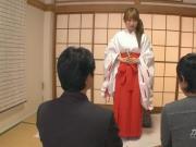 Japanese Temple Nun Threesome Yui Misaki