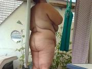 Spy my bbw wife and huge boobs and big ass 3