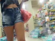 baixinha top de shortinho big ass in shorts T23