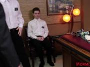 Gay mormon gets tied up