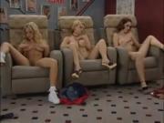 Blone Professor teaches her students how to masturbate
