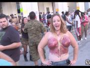Fantasy Fest Naked Street Party