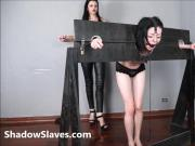 Merciless brazilian bdsm and lesbian whipping of 19yo amateu