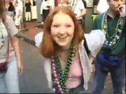 Arkansas redhead flasher her tits