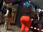 Big ass in orange