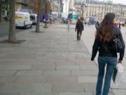 Young ass street walk