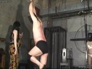 Japanese Femdom Kyouka Hanging Slave